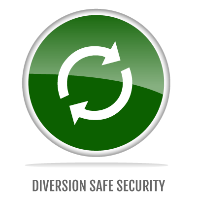 DIVERSION SAFE SECURITY