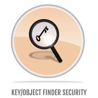 KEY/OBJECT FINDER SECURITY